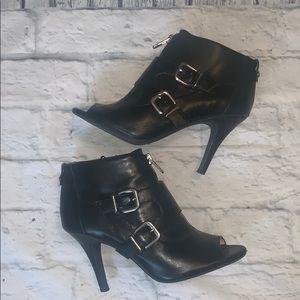 Antonio Melani Leather Heeled Booties 🔥